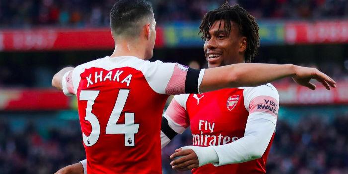 Alex-Iwobi-Granit-Xhaka-Fulham-2019